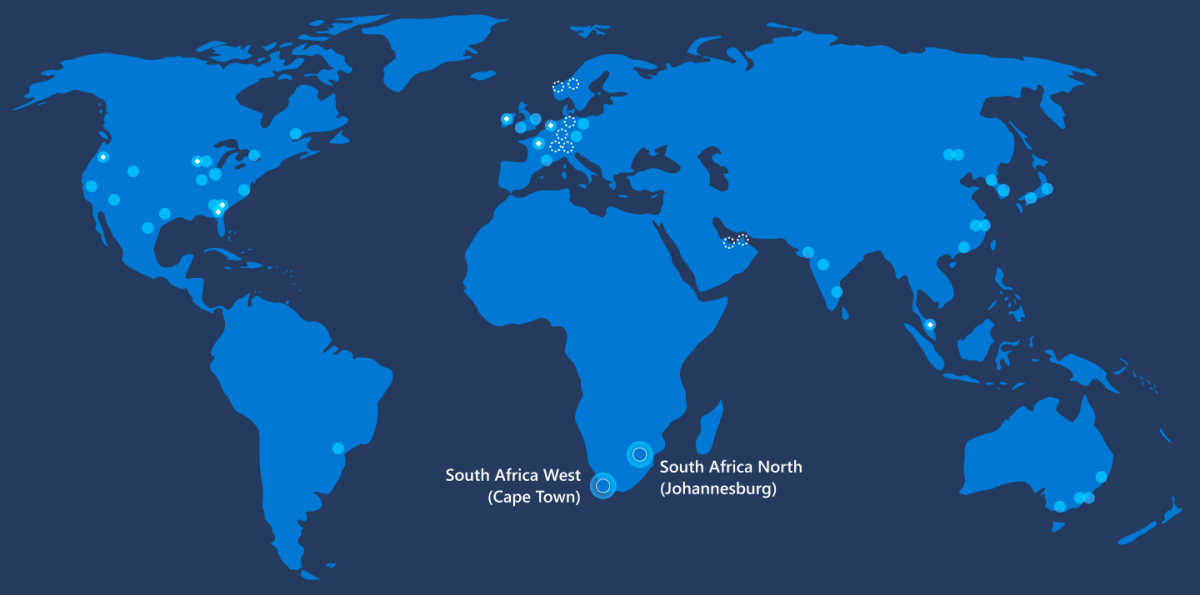 Microsoft Opens First Data Centers In Africa With General